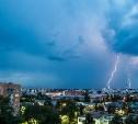 Молния вывела из строя несколько светофоров в Туле