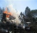 Дом в Ленинском районе тушили пять пожарных расчётов