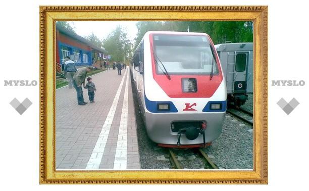 В Новомосковске открывают детскую железную дорогу
