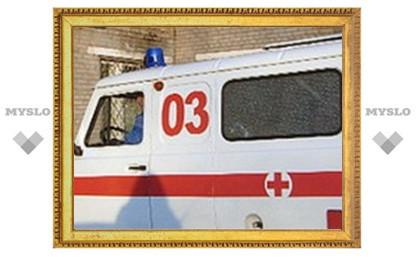 """Под Тулой """"Иж"""" столкнулся с автобусом"""