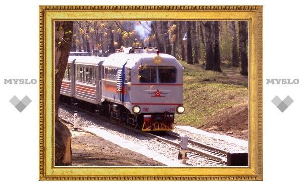 Под Тулой открыт летний сезон детской железной дороги