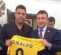 Владимир Афонский обсудил с Роналдо планы по проведению ЧМ по футболу-2018