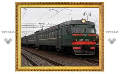 В Туле отменили поезда на Санкт-Петербург