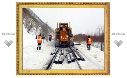 Под Тулой отремонтируют железнодорожные пути