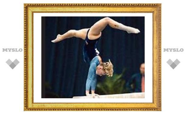 Тульские гимнастки всех сильней!