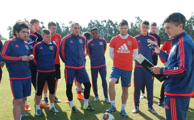 Футболисты «Арсенала» прибыли на третий сбор