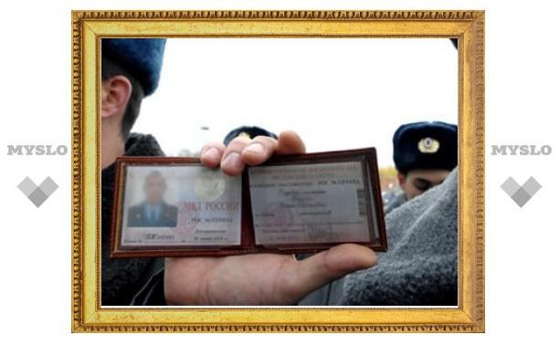 Грабители потребовали от милиционеров предъявить удостоверения полицейских