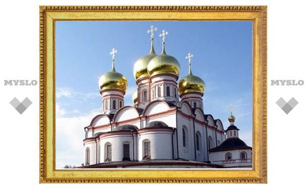 Восстановлены фрески Иверского собора