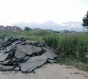 Дежурный по Туле «раскрыл тайну» асфальта в поле у поселка Петровский