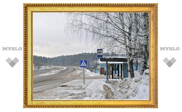 Алексинец умер на автобусной остановке