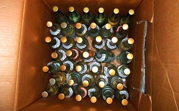 У жительницы Тульской области украли 36 бутылок водки