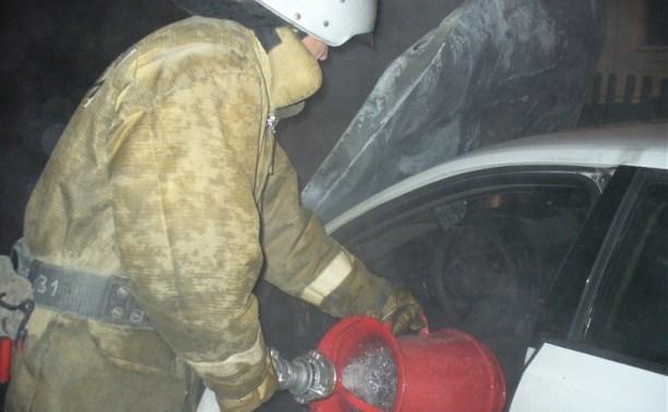За ночь в Тульской области сгорели три автомобиля