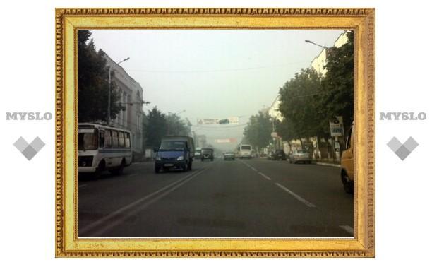 В Тулу вновь пришел смог
