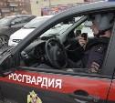 В Тульской области сотрудники Росгвардии задержали угнанный автомобиль
