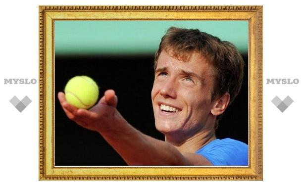 Тульский теннисист едва не пробился в финал парного разряда