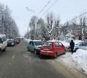 В Новомосковске столкнулись Daewoo и Renault