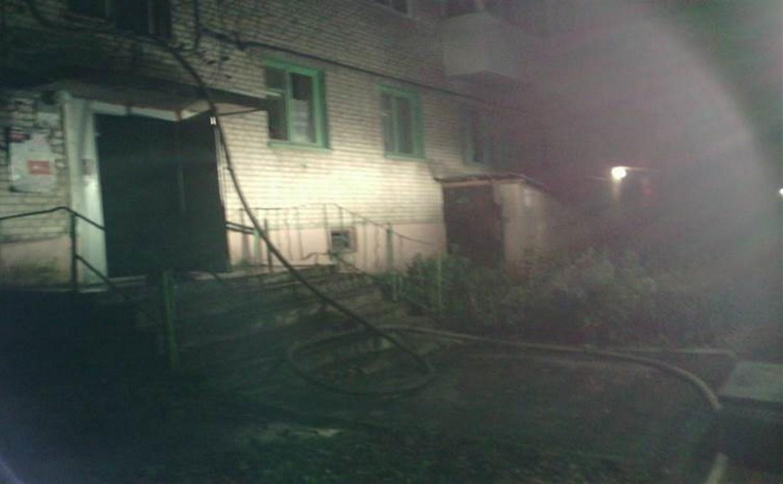 В Новомосковске при пожаре погибли двое мужчин