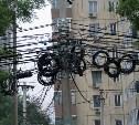 С тульских улиц уберут лишние электропровода