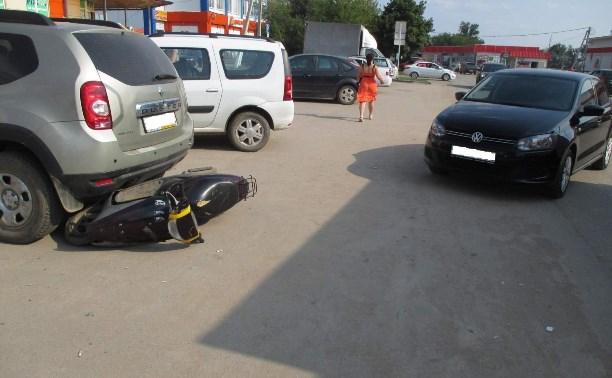 В Ясногорске 15-летний скутерист пострадал в ДТП