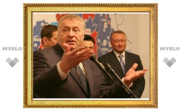 Жириновский Груздеву: «ЛДПР освободила Вам место губернатора!»