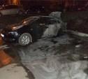 Ночью в Алексине сгорели две иномарки