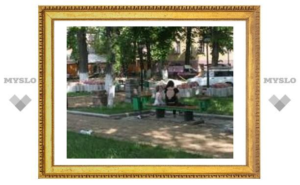В Пушкинском сквере Тулы построят фонтан