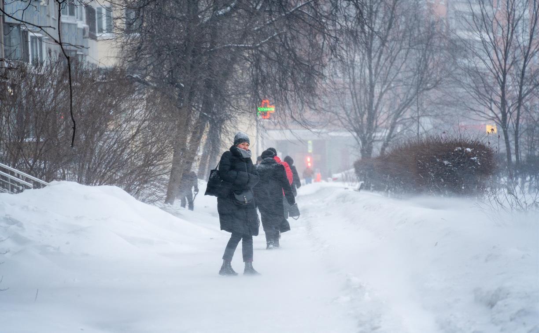 В Туле сегодня облачно и морозно
