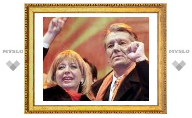 Коммунисты мешают жене Ющенко передвигаться по Крыму