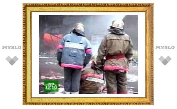 Пожар в доме престарелых в Омской области потушен