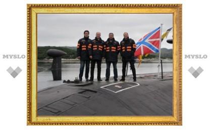 Вадим Жерздев отправился на подводную лодку