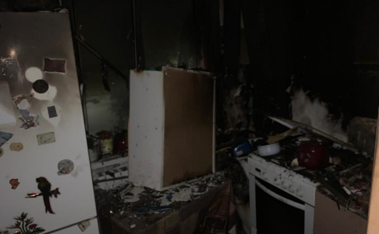 На пожаре в Плавске погибла пенсионерка