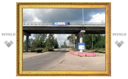 Самоубийца спрыгнул с моста в центре Тулы