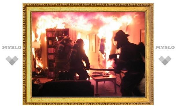 Туляк сгорел из-за дивана