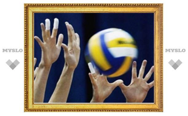 Волейболисты «ТулГУ» пока идут третьими