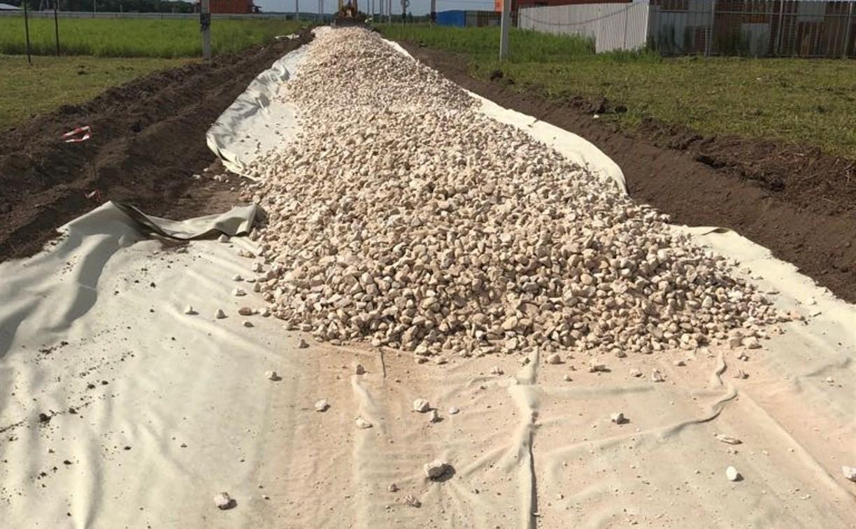 В Туле отсыпку дорог щебнем будут вести по новой технологии