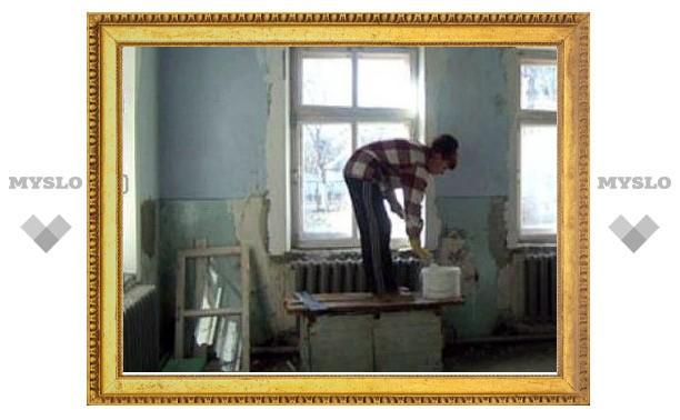 В Туле не могут отремонтировать детский сад №139