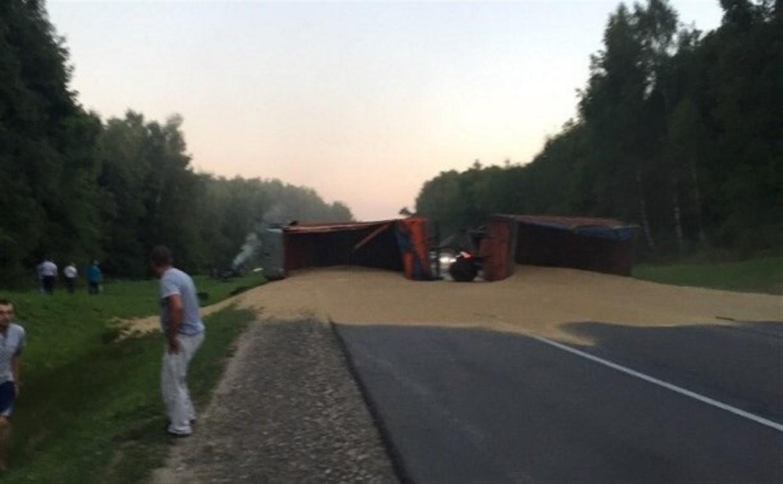 Под Тулой по факту страшной аварии с пятью погибшими возбуждено уголовное дело