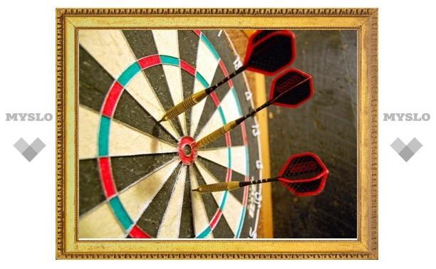 Чемпионат Тулы по дартсу: новые игры уже 11 июля