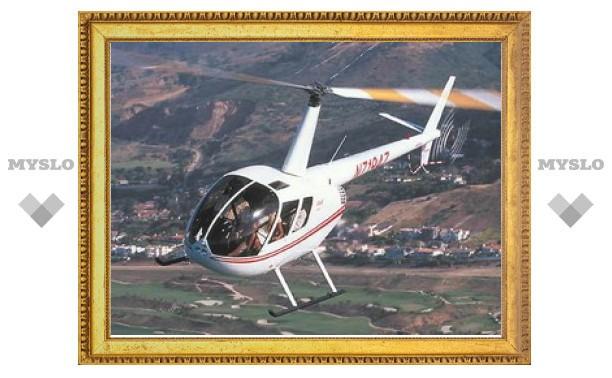 На месте падения вертолета в Тульской области работает следственная группа