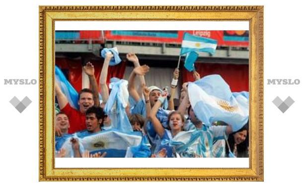 Сборная России по футболу проиграла Аргентине