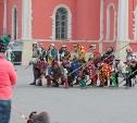 В тульском кремле состоялись «Средневековые манёвры»