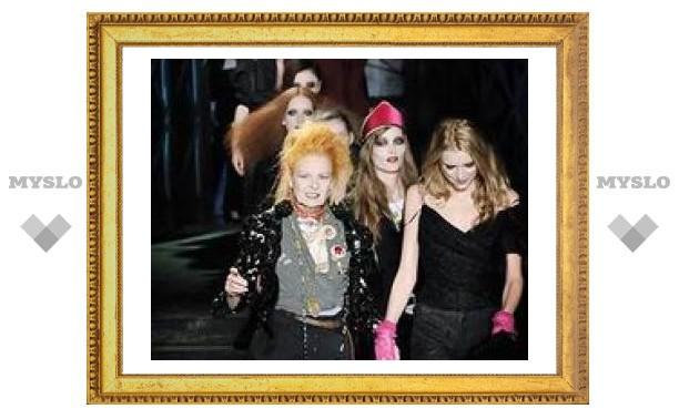 Вивьен Вествуд устроила скандал на Неделе высокой моды в Лондоне