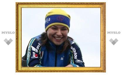 Тульская велосипедистка стала третьей в России