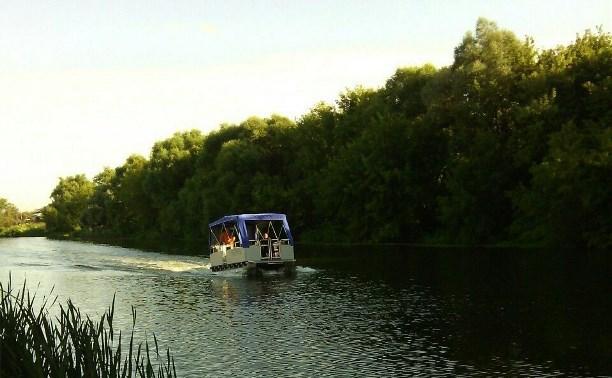 По Упе будет курсировать речной трамвайчик
