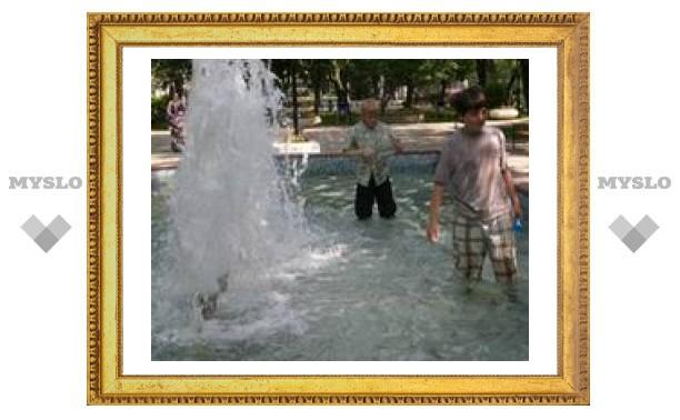 В Туле обнаружены ничейные фонтаны