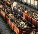 Туляк пытался украсть металлолом с движущегося локомотива