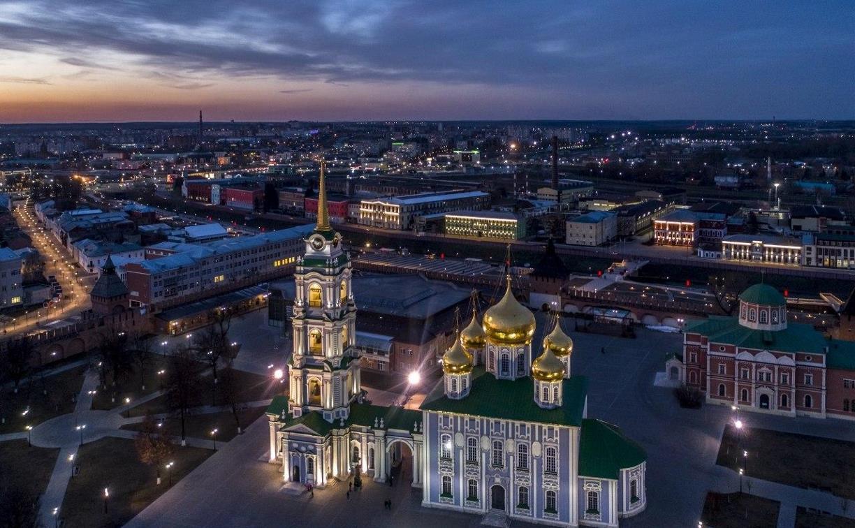 В Тульском кремле реставрируют Успенский собор