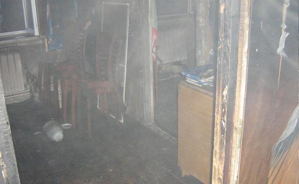 В Ленинском районе короткое замыкание электропроводки привело к пожару