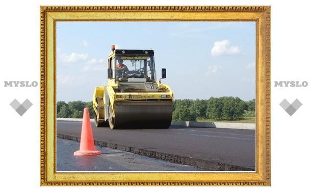 В Тульской области построят 100 км сельских дорог