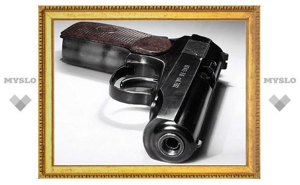 Под Тулой мужчину осудят за самодельный пистолет